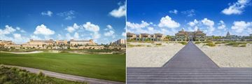 Rixos Saadiyat Island, Resort Grounds and Beach