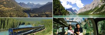 The Rocky Mountaineer Experience & Scenery