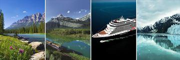 Beautiful Rocky Mountain & Alaskan Cruise Scenery