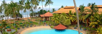 Royal Palms Beach Hotel, Kalutara, Aerial View of Hotel and Pool