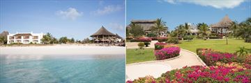 Royal Zanzibar Beach, Views of Resort, Beach, Beach Bar and Gardens