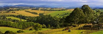 Beautiful rural scene in New South Wales