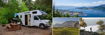Campground & Scenery in Okanagan Valley
