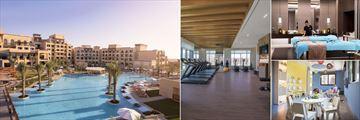 Saadiyat Rotana Resort & Villas, Main Pool, Bodylines Fitness Centre, Zen the Spa - Couples Treatment Room and Aladdin's Cave