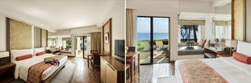 Ocean View terrace and Ocean Front terrace at SAii Laguna Phuket