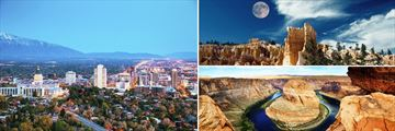 Salt Lake City, Bryce Canyon & Lake Powell