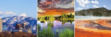Salt Lake City, Grand Teton & Yellowstone