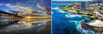San Clemente and La Jolla in San Diego