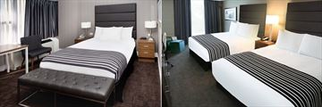 Sandman Hotel Calgary, Standard Room with Queen Bed and Standard Room with Two Double Beds