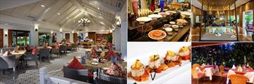 Santiburi Beach Resort, Golf & Spa, Dining Options