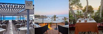 Olio, Sky Bar and World Cafe at Secrets Mallorca Villamil Resort