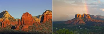 The Sedona landscapes and Red Rocks
