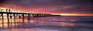 Semaphore Beach, near Adelaide
