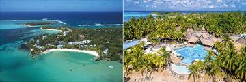 Shandrani Beachcomber Resort & Spa, Aerial View of Resort and Pools