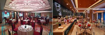 Shangri-La, Bangkok, Shang Palace and Volti Ristorante & Bar Upper Level