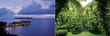 Shangri La Tanjung Aru Resort views