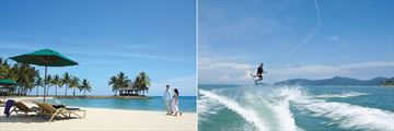Shangri-La's Tanjung Aru Resort & Spa, Beach and Watersports