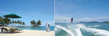 Shangri-La's Tanjung Aru Resort & Spa, Beach and Watersports