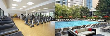 Sheraton Centre Toronto Hotel, Fitness Centre and Pool