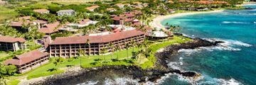 Aerial View of Sheraton Kauai
