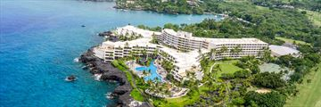Aerial View of  Sheraton Kona Resort & Spa at Keauhou Bay