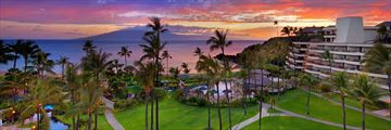 Aerial View of Sheraton Maui Resort