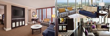 Executive Suite, Governors Suite and Jackson Presidential Suite at Sheraton New Orleans Hotel