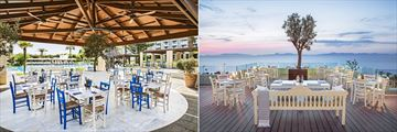 Mediterraneo and Thea restaurants at Sheraton Rhodes