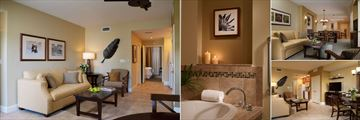 Sheraton Vistana Villages, Three Bedroom Lockoff Villa St. Augustine Phase