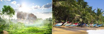 Sigiriya & Beach in Sri Lanka