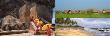 Sigiriya & Negombo beach