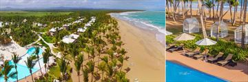 Sivory Punta Cana Boutique Hotel, Aerial View of Hotel and Pool, Cabanas and Beach