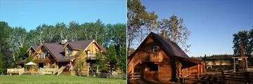 Siwash Lake Wilderness Resort, Ranch House Exterior and Cariboo Suite Exterior