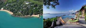 Six Senses Yao Noi, Aerial View of Resort and The Hilltop Reserve Pool