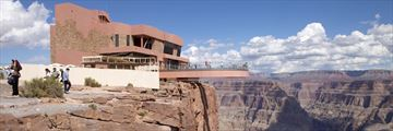West Rim skywalk in the Grand Canyon