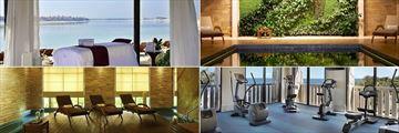 Spa treatment Bed, Spa Pool and Gym at Sofitel Dubai The Palm