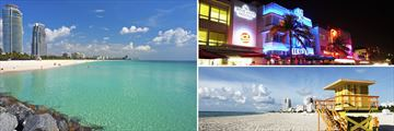 South Beach, Ocean Drive & Miami Beach Florida