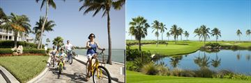 South Seas Island Resort, Cycling and Golf
