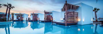 Overwater Bungalows at Stella Island Luxury Resort & Spa