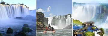 Beautiful views at Iguassu Falls