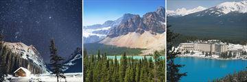 Beautiful scenery in Lake Louise