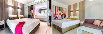 Sun City Cabanas, Standard Twin Room and Standard Family Room