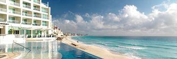 Sun Palace, Pool and Beach View