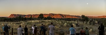 Sunset viewing platform at Kings Canyon