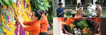 Tamarind Village Chiang Mai, Songkran Festival, Lotus Leaf Folding and Buddhist Offering Ceremony