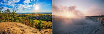 The Beautiful Scenery of Algonquin Park & Niagara Falls, Ontario