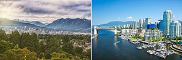 The Cityscapes of Vancouver, British Columbia