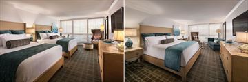 Coastal King and Queen Guestrooms, The Cliffs Hotel and Spa