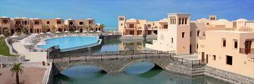 The Cove Rotana, Lagoon Pool and Bridge