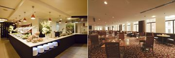 The Grace Hotel, The Grace Brasserie Buffet and The Grace Brasserie Dining Area